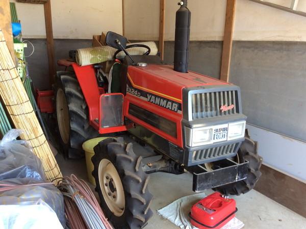 ヤンマーのトラクターを岩沼市のお客様より買い取りしました。