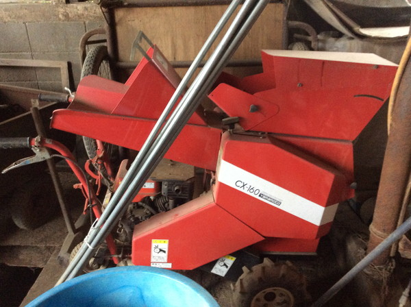 山本製作所の農用裁断機を岩沼市のお客様より買い取りしました。