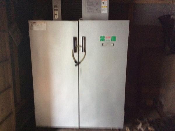 静岡製機の保冷庫を村田町のお客様より買い取りしました。