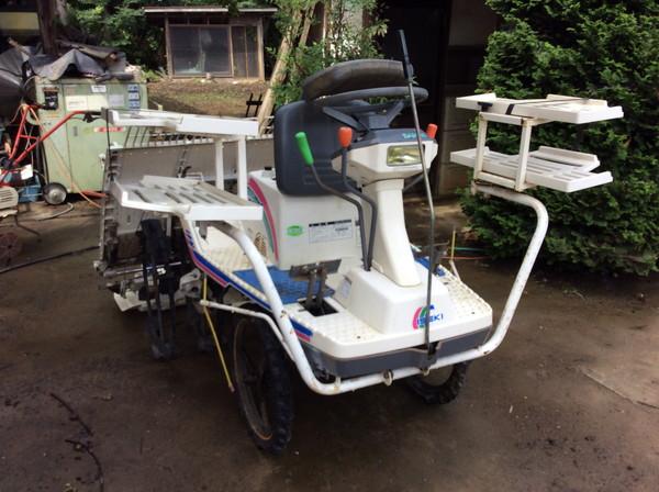 イセキの田植機を角田市のお客様より買取した記事画像