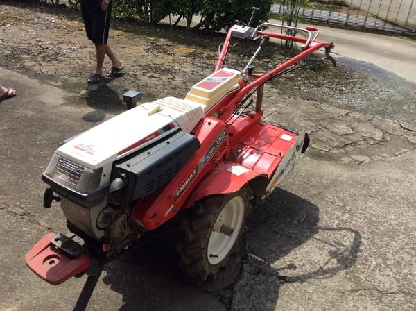 ヤンマーの耕運機を亘理町のお客様より買い取りしました。