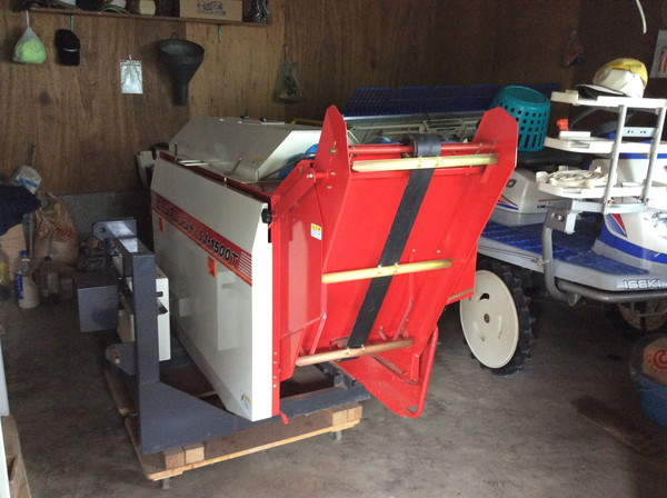 斉藤農機の大豆脱粒機を岩沼市のお客様より買取した記事画像
