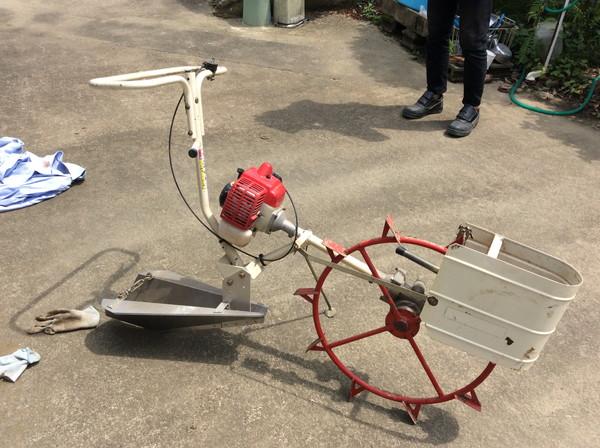 丸山の溝切り機を岩沼市のお客様より買取した記事画像