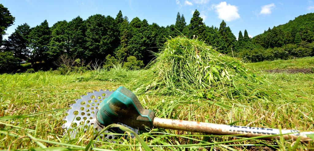 草刈機 汚れがある場合は買取金額が変動します 画像