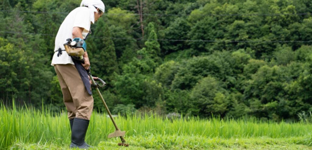 動かなくなった草刈機はご相談ください。 画像