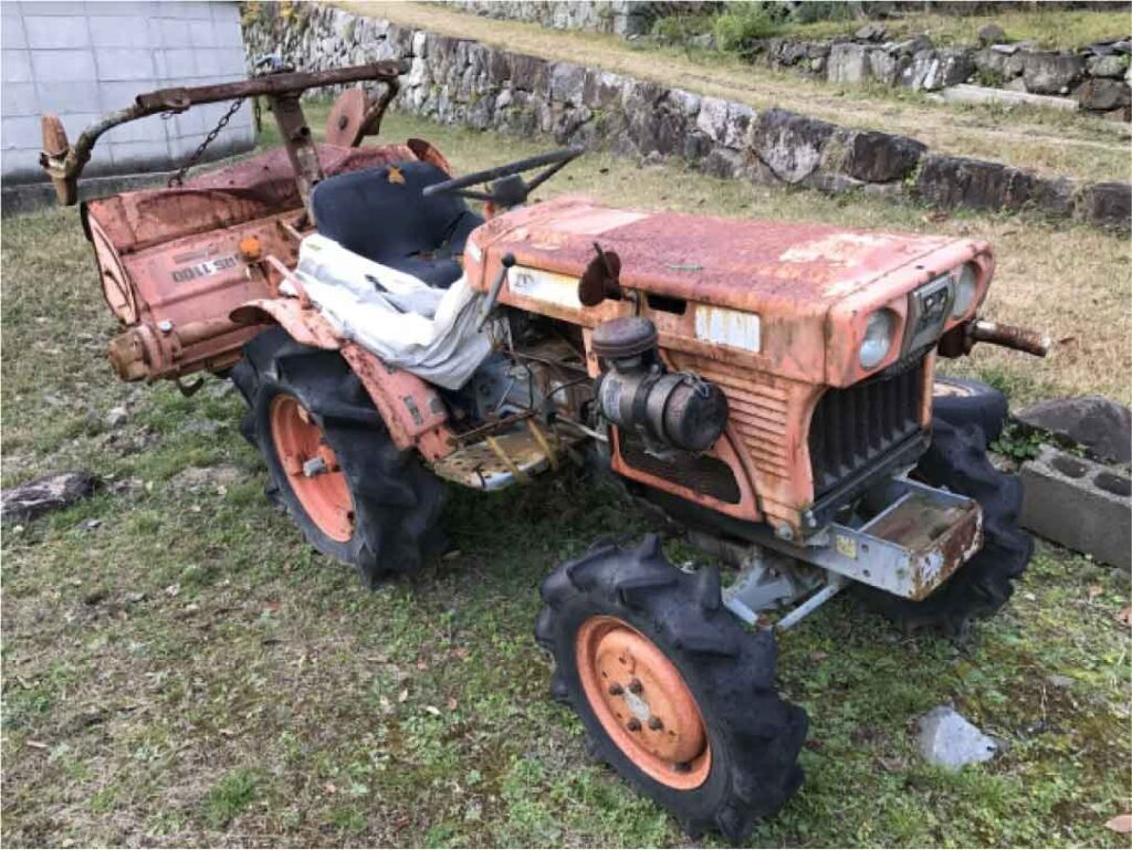 宮城農機具市場の古い農機具買取実績 画像
