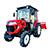 ヤンマー トラクター EG334 画像